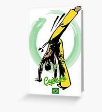 Capoeira  Greeting Card