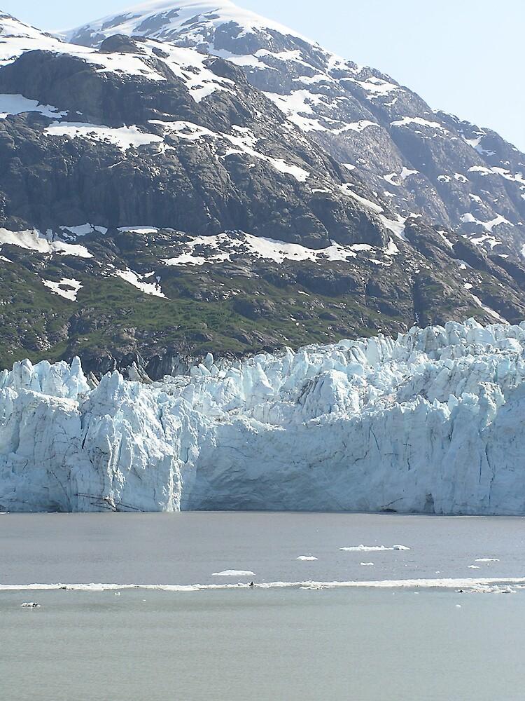Alaskan Glaciar by Christine Frydenborg Dargon