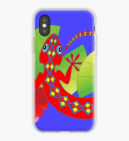 Connection to the Spirit World (Lizard)  iPhone Case