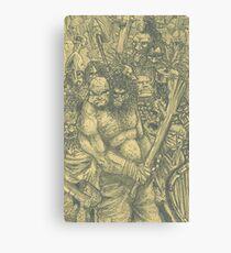 Ogre Army Canvas Print