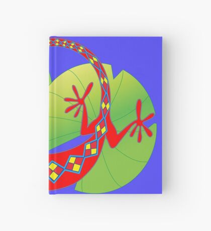 Connection to the Spirit World (Lizard)  Hardcover Journal