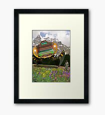The Chitral چترال Doctor unveils the Bedford Truck Landwalker Framed Print
