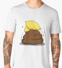 Donald Trump Poop Cartoon Men's Premium T-Shirt