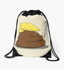 Donald Trump Poop Cartoon Drawstring Bag