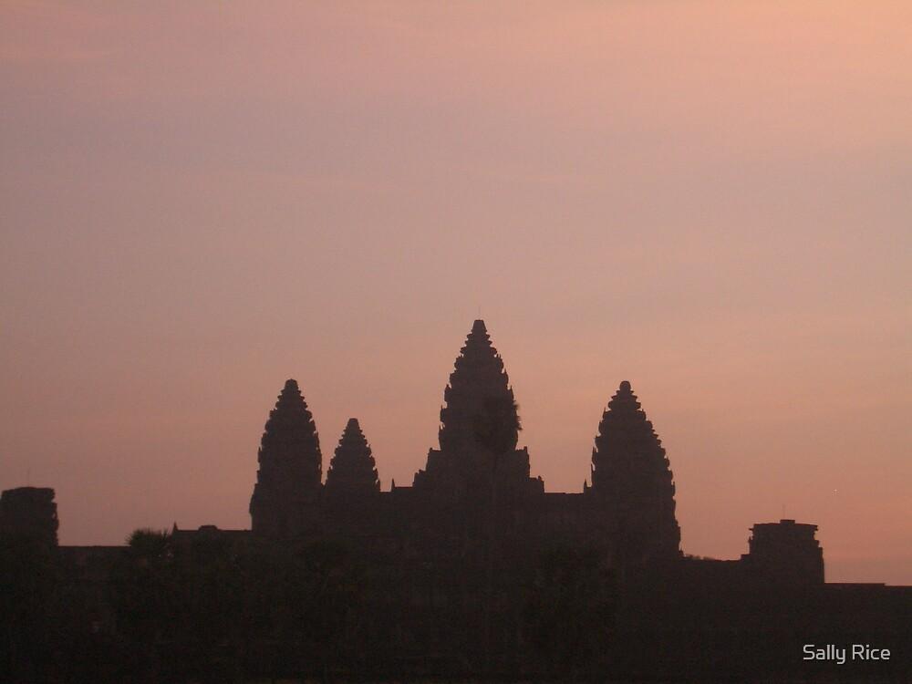 Angkor Wat 2 by Sally Rice