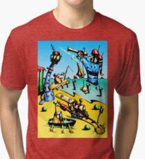 Fable fun illustration art 014 Tri-blend T-Shirt