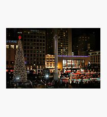 San Francisco Christmas Photographic Print