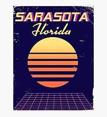 Sarasota Florida 1980s vintage travel Photographic Print