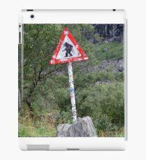Trolls crossing iPad Case/Skin