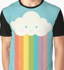 Proud rainbow cloud Graphic T-Shirt