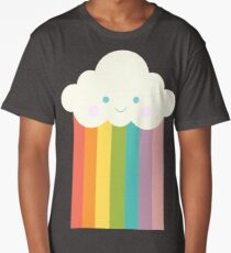 Proud rainbow cloud Long T-Shirt