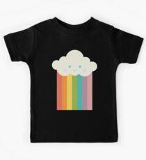 Proud rainbow cloud Kids Tee