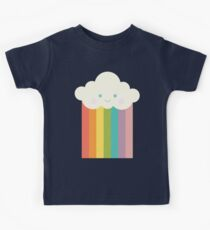 Proud rainbow cloud Kids Tee