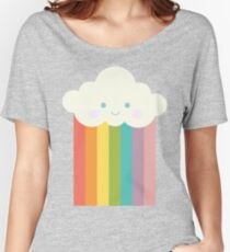 Proud rainbow cloud Women's Relaxed Fit T-Shirt