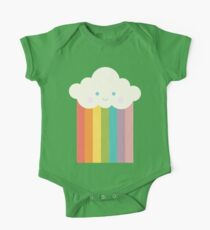 Proud rainbow cloud One Piece - Short Sleeve