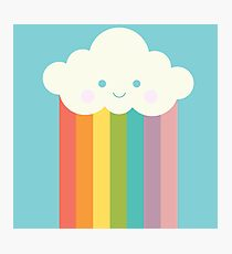 Proud rainbow cloud Photographic Print