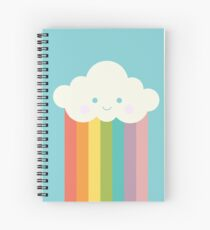 Proud rainbow cloud Spiral Notebook