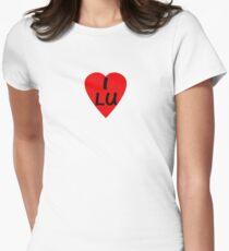 I Love Luxembourg - Country Code LU T-Shirt & Sticker T-Shirt