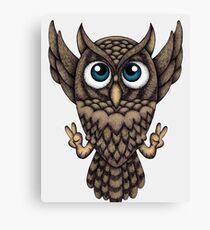 Owl Dream Canvas Print