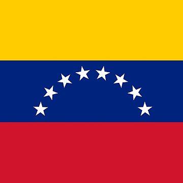 I Love Venezuela - Country Code VE T-Shirt & Sticker by deanworld