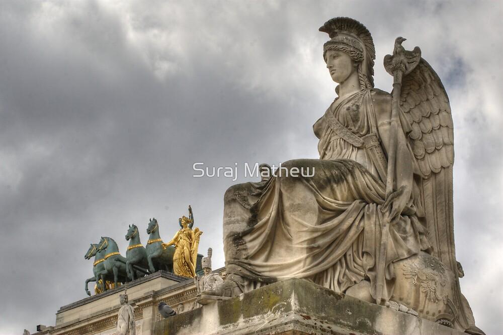 Arc de Triomphe du Carrousel, Paris by Suraj Mathew