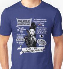 Evil Queen / Regina Mills Quotes - Ouat Unisex T-Shirt