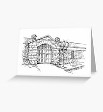 OLD GAOL  Greeting Card