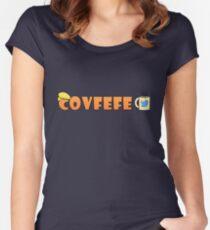 Covfefe Coffee Trump Tweets Women's Fitted Scoop T-Shirt