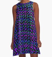 Dot My World No. 7 A-Line Dress