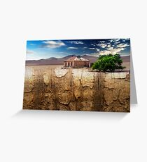 Outback Decay Greeting Card