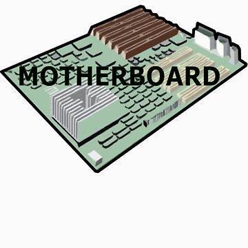 MOTHERBOARD COMPUTER by SofiaYoushi