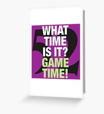 Ray Lewis (Baltimore Ravens) - Game Time! Greeting Card