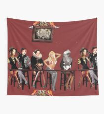 A Fever You Can't Sweat Out Cover Wall Tapestry
