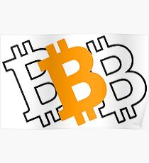 Bitcoin - virtual currency for a digital age Poster