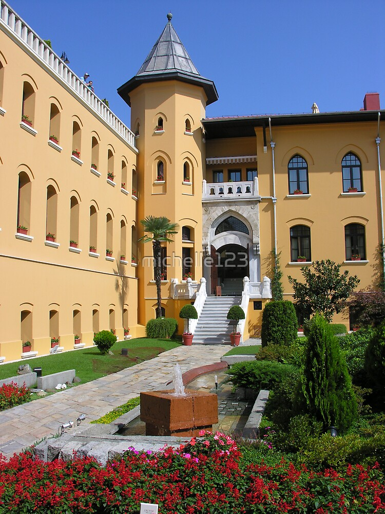 Four Seasons Courtyard, Istanbul by michelle123