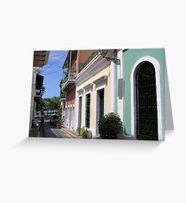 Old San Juan 2 Greeting Card