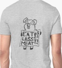 Eat less meat, Save my bacon! Unisex T-Shirt
