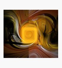 Ruby Sun Swirls Photographic Print