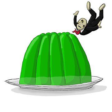 Crash Test Dummy Jello Dive by mikeyuhoh