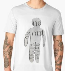 Evdokia Georgiou- Newspaper Cut- OUT Men's Premium T-Shirt