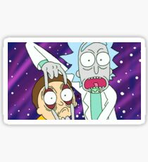 Galaxy Rick and Morty  Sticker