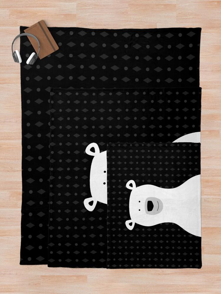 Alternate view of Bear Throw Blanket