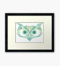 Green with Envy - Owl Framed Print