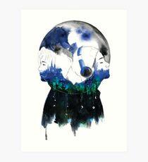 Lámina artística Moonchild | RM x V