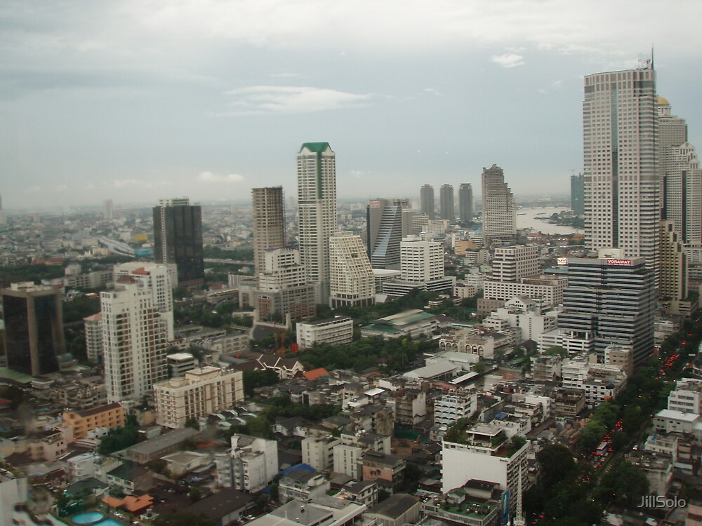 Bangkok - Skyline by JillSolo