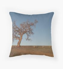outback tree Throw Pillow