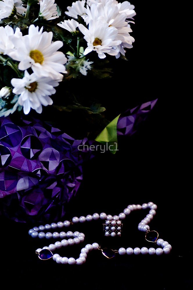 Flowers and Pearls by cherylc1