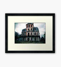 Villa Maquis de P. Framed Print