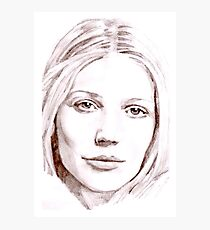 Gwyneth Paltrow Photographic Print