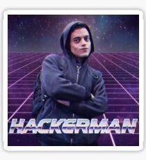 Hackerman - Mr Robot Sticker